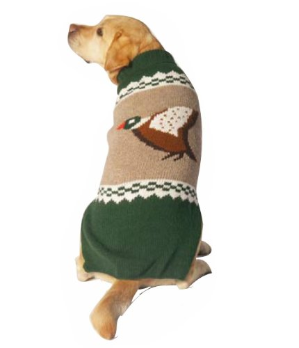 Chilly Dog Mallard Dog Sweater, Large