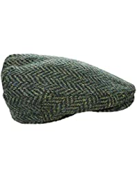 Men s Driving Cap 100% Killarney Tweed Made in Ireland e456a9cd938