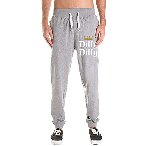 Men's Athletics Jogger Pants Active Comfortable Pocket Workout Bud Light Dilly Dilly Sweatpants