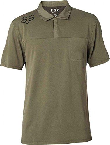 (Fox Racing Men's Redplate 360 Tech Polo Polo Shirts,Small,Fatigue Green)
