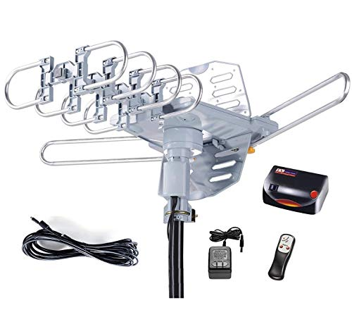 McDuory Amplified Digital Outdoor HDTV Antenna 150 Miles Long Range