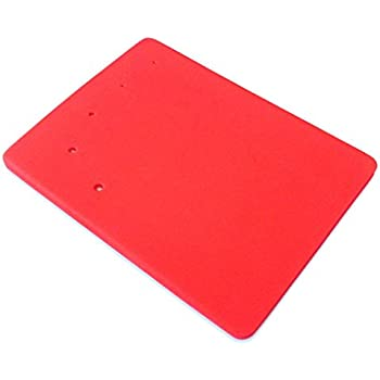 FOUR-C Fondant and Gum Paste Modeling Foam Pad Sugar Craft Tools Color Red