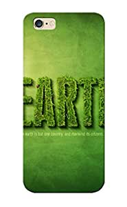 TYH - Hot Aeqmos-3778-gcbawrk Green Minimalistic Text Grass Earth Typography Tpu Case Cover Series Compatible With Iphone 5C phone case