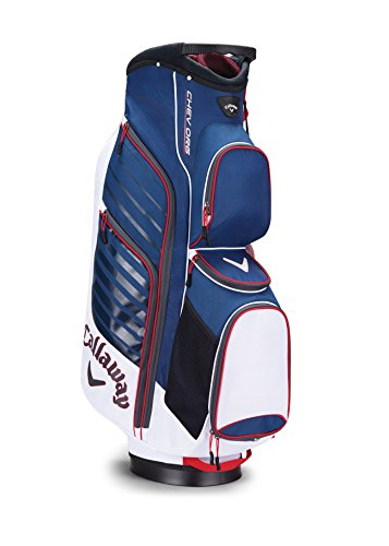 Callaway Golf Chev Org Cart Bag Golf Bag Cart 2017 Chev Org White/Navy/Red