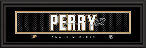 Prints Charming Anaheim Ducks Perry Framed Posters 22x6 Inches
