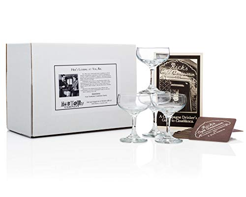 Price comparison product image Casablanca Champagne Coupe (Gift Box Set of 4)