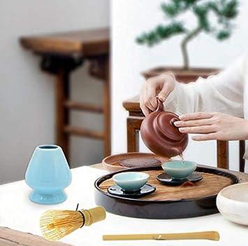 Tea Whisk Hacoly Tradizionale Matcha Set da t/è Giapponese Matcha Tea Ceremony Set Tea Scoop Tea Spoon Bamboo Tea Set Verde