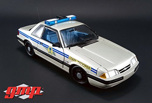 (GreenLight (1:18 Scale)  1991 Ford Mustang South Carolina Highway Patrol SSP - GMP-18844 - Die-Cast Vehicle)