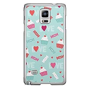 Loud Universe Samsung Galaxy Note 4 Love Valentine Printing Files A Valentine 42 Printed Transparent Edge Case - Multi Color