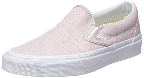 Vans Classic Slip-On Rosa / True White