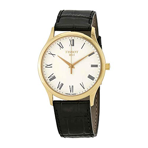 Tissot Excellence Men's 18kt Yellow Gold Leather Watch T926.410.16.013.00 18kt Yellow Gold Mens Watch