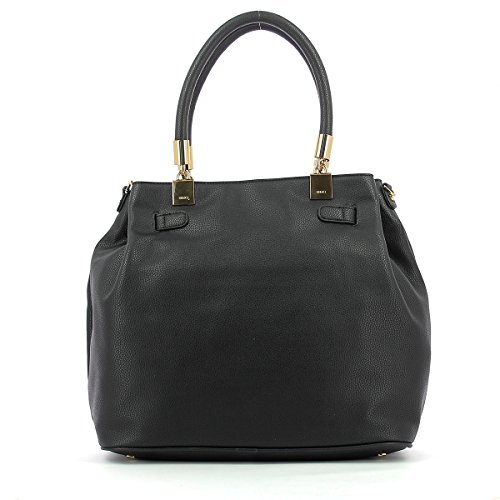 LIU JO NIMES SHOPPING BAG N/S A67136E0027-22222 Black