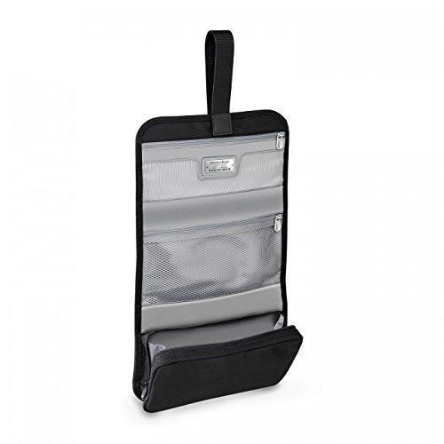 Briggs & Riley Baseline Compact Toiletry Kit, Black, Medium by Briggs & Riley (Image #4)