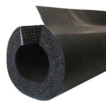 BriskHeat INSUL158 INSUL-LOCK DS aislamiento flexible para tuberías, célula cerrada, 1.25 pulgadas de diámetro Tubo, 6...