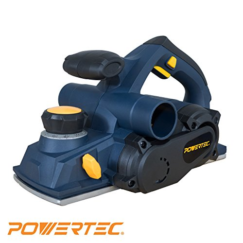 POWERTEC HP1005 8 Amp Portable Hand Planer, 4-3/8-Inch For Sale
