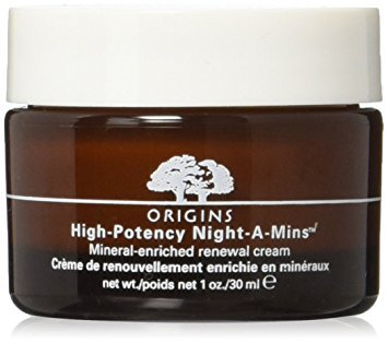 Mineral Night Cream (Origins High Potency Night-A-Mins Mineral Enriched Renewal Cream UNBOX 30 Ml 1 Oz)