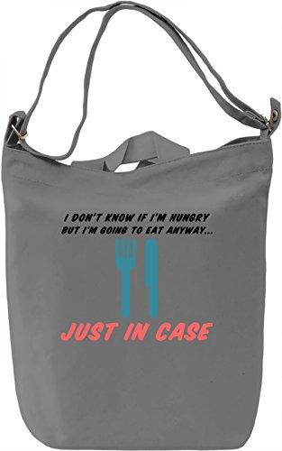 Hungry Borsa Giornaliera Canvas Canvas Day Bag| 100% Premium Cotton Canvas| DTG Printing|