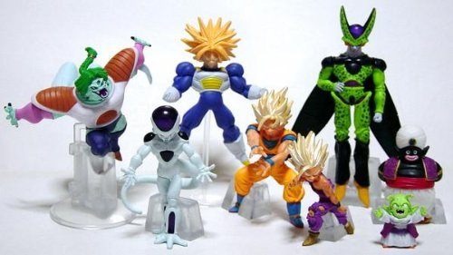 Gashapon HG Dragon Ball Z 14 complete disappearance !