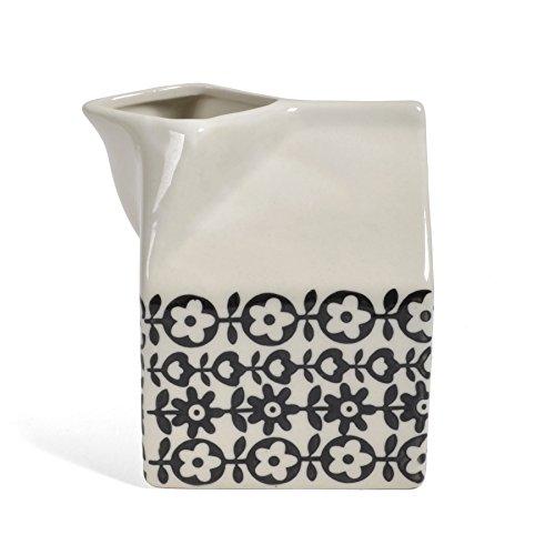 Bloomingville A21105423 Stoneware Julie Milk Jug Vase