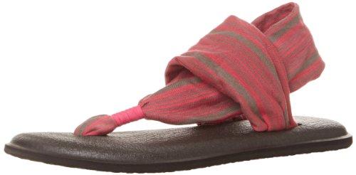 Sanuk Kvinna Yoga Sling 2 Vippan Kol / Shock Rosa