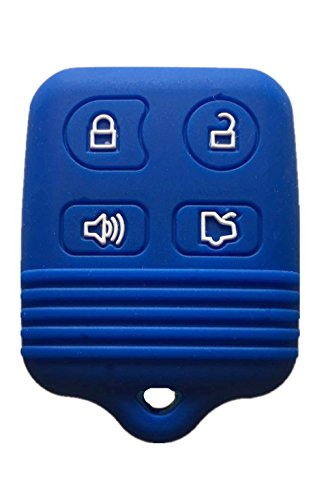 Rpkey Silicone Keyless Entry Remote Control Key Fob Cover Case protector For Ford Mustang Edge Escape Expedition Explorer Focus Escort Lincoln Mercury CWTWB1U331 GQ43VT11T 8S4Z-15K601-AA 5925872