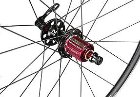 NOVATEC JETFLY SL - Juego de Ruedas para Bicicleta de Carretera ...