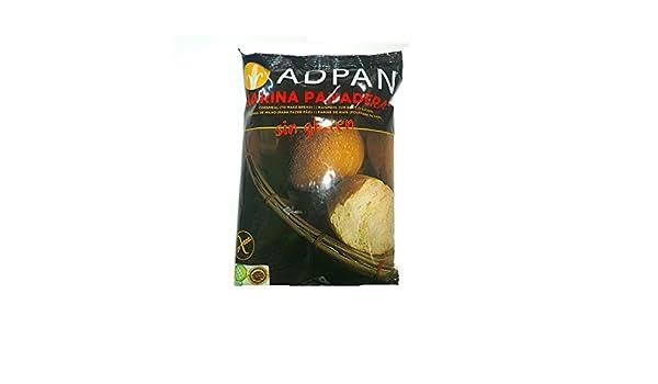 Harina Panadera SIN GLUTEN Adpan: Amazon.es: Salud y cuidado ...