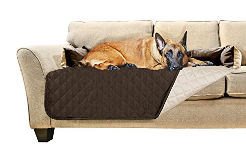 Furhaven Pet Sofa Buddy Pet Bed Furniture Cover, X-Large, Espresso/Clay