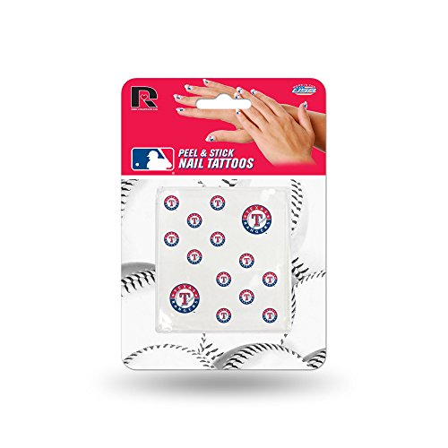 (Rico MLB Texas Rangers Nail Tattoos)