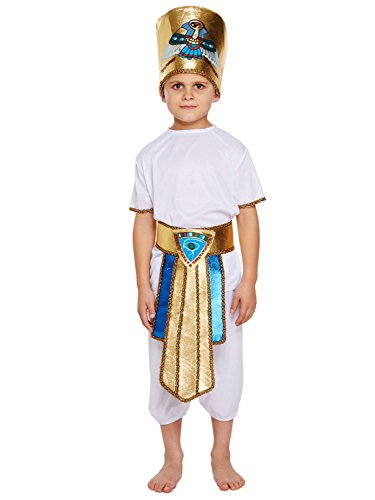 Henbrandt Fancy Dress Child Egyptian Boy Medium 7-9 (Egyptian Outfits For Boys)