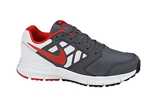 Shoes 6 Challenge Running White GS NIKE Kids' PS Red Black Dark Grey Downshifter nqwFOqEY