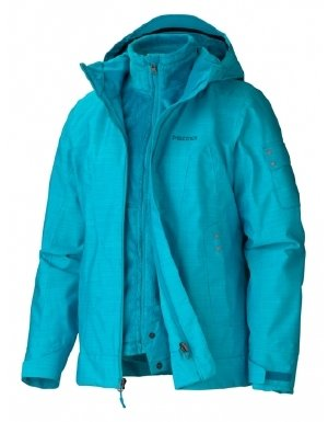 Marmot Women's Lindsey Component Jacket (Large, Sea Glass) by Marmot