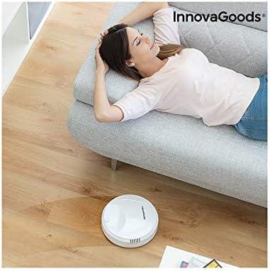 Robot Aspirador Inteligente rovac 1000 Blanco: Amazon.es: Hogar