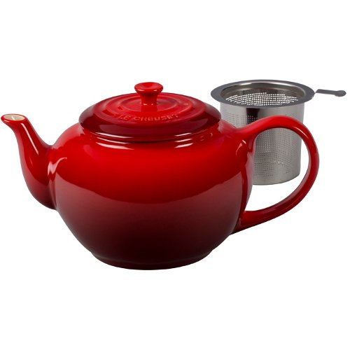 Creuset Stoneware Teapot Stainless Infuser product image