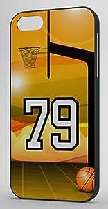 Basketball Sports Fan Player Number 79 Black Plastic Decorative iPhone 6 PLUS Case