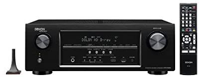Denon AVR-S700W 7.2-Channel Network AV Receiver with Bluetooth and Wi-Fi (Discontinued by Manufacturer)