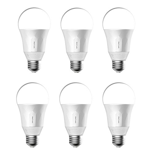 TP-Link Smart Wi-Fi LED Dimmable Light Bulb (6 Pack)