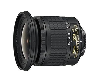 Nikon AF-P DX NIKKOR 10-20mm f/4.5-5.6G VR 10-20mm f/4.5-29 Body Only Camera Lens, Black by Nikon