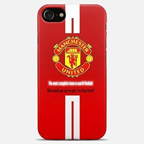 Inspired by Manchester united phone case Manchester united iPhone case 7 plus X XR XS Max 8 6 6s 5 5s se Manchester united Samsung galaxy case s9 s9 Plus note 8 s8 s7 edge s6 s5 note 9 gift art cover (Galaxy S5 Case Manchester United)