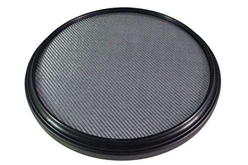 - The 12-inch Double Sided Practice Pad, Marching Snare Pad - Fully Rimmed with an Articulate Carbon Fiber Laminated Surface, Realistic Feel