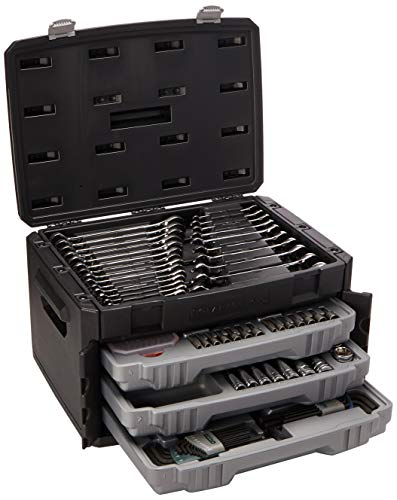 :GEARWRENCH 80944 - 232 Pc. Mechanics Tool Set in 3 Drawer S