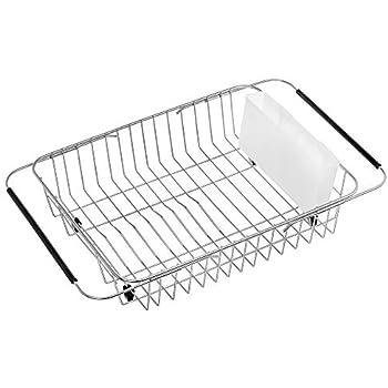 Amazon Com Sanno Dish Rack Over Sink Expandable Dish