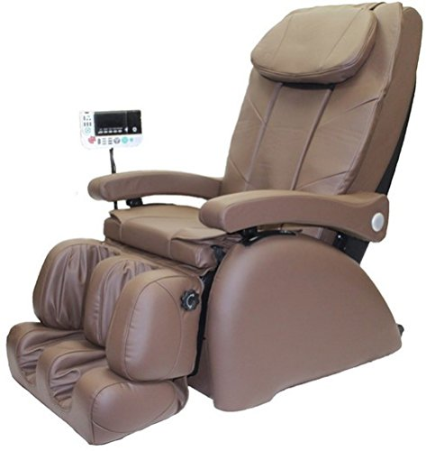 Reclining Elite Recliner (ME-1 Montage Elite Reclining Heated Massage Chair Upholstery: Coffee)