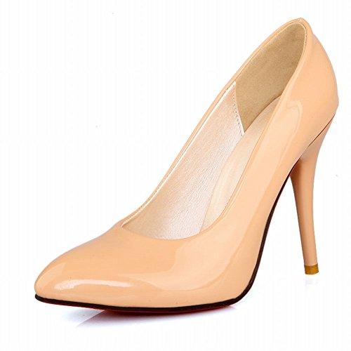 Carol Shoes Women's Concise Sexy High Heel Stiletto Pumps/Court Shoes apricot OJPn7cjBdd