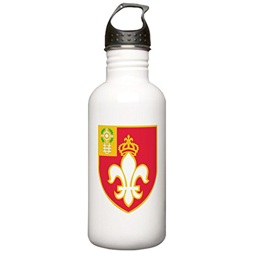 CafePress - DUI-12TH FIELD ARTILLE Stainless Water Bottle 1.0L - Stainless Steel Water Bottle, 1.0L Sports - Military Patch Dui