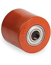 Polyurethaan rol polyamide kern 82 x 70 mm met kogellager boring 20
