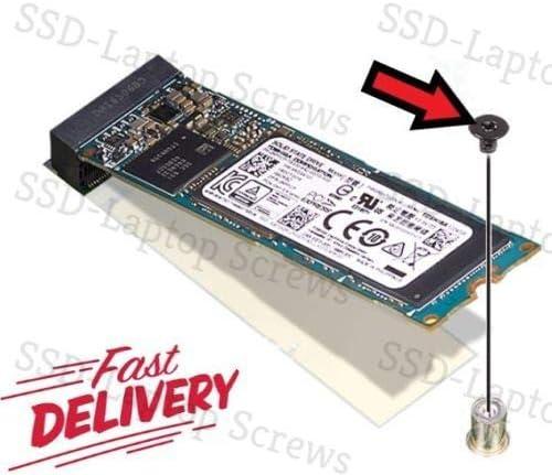 M.2 NVMe or Sata SSD - Tornillo de Montaje M2 x 3 mm para Samsung ...