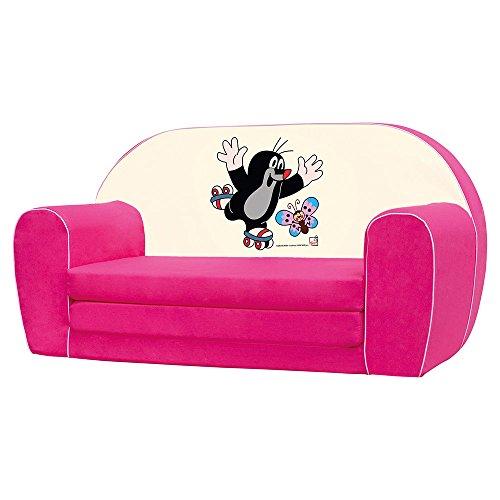 Bino License 13780 Bino Mini Sofa, Colour-Pink