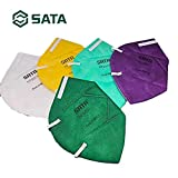SATA Tool Accessories 5pcs Disposable dust mask Multi-Color HF0001