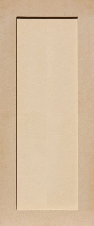 Unfinished Shaker Cabinet Doors In MDF By Kendor, 31H X 13W
